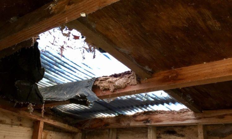 roof-damage-hole