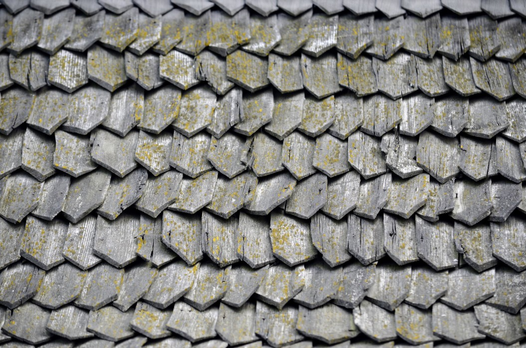 wooden shingles or shakes